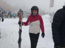 Sarah-Skiing